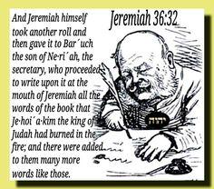 Jeremiah 36:32