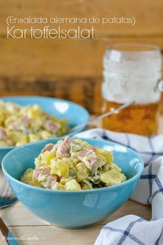 Kartoffelsalat - Ensalada alemana de patatas