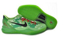 pretty nice 32eb4 ef392 Nike Kobe 8 Zoom Kobe Viii Elite Christmas Grinch Green Red Black 555035  Blue Free Runs 8