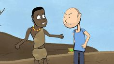 """Karl Pilkington suggests how to end world famine. An extract from """"the Ricky Gervais guide to comic relief"""" - download the full free podcast: http://clkuk.tr..."""