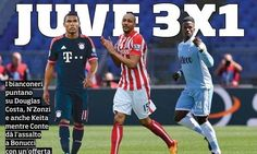 Juventus target trio as Chelsea monitorLeonardo Bonucci