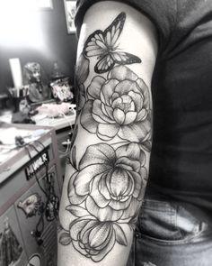Peonia tattoo