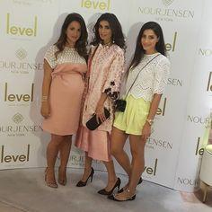At the launch of Nour Jensen shoe at level shoe district #nourjensenlaunch #Padgram