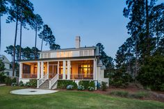 Home With Spacious Porch | Southern Style | Lowcountry Living | Vacation Real  Estate Bluffton,
