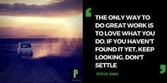 Love what you do #scitechspiration