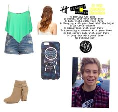 """Day 7: attending a concert with your fave"" by lisaro66 ❤ liked on Polyvore"