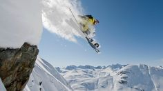 The Ultimate Rush. #freeskiing