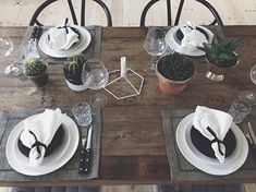 Table setting by Trine Nørgaard, Bungalow5