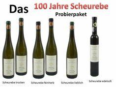 Zum 100sten der Scheurebe......  Die Scheurebe im Probierpaket von trocken bis edelsüß !  Einfach nur GEIL !  http://www.weinshop-becker.de/de/Wein-Probierpakete/scheurebe-probierpaket.html
