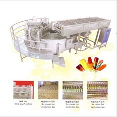 Stick ice cream machine. Great Stick ice cream machine with fully automatic and high capacity is all made by stainless and has double annular tank which has a beautiful appearance and is convenient for operation.  Please contact us!