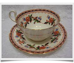 Aynsley Bone China Teacup and Saucer