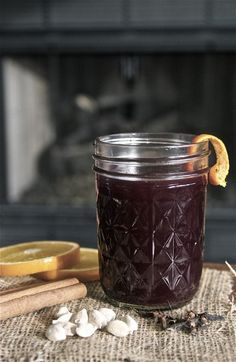 Glogg (mulled wine) - the perfect drink for holiday entertaining!