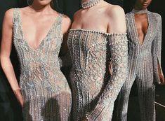 "dailyhosk: """"Elsa Hosk, Greta Varlese and Jasmine Tookes Backstage at Jonathan Simkhai FW New York Fashion Week. Fashion Line, High Fashion, Fashion Show, Fashion Design, Couture Fashion, Runway Fashion, Dream Dress, Backstage, Dress To Impress"