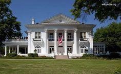 Mansión sureña en Alabama casa del gobernador