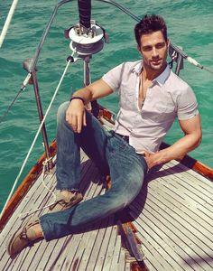 Carlo, boat. . .