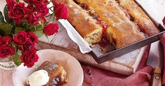 What a sweet dream are these bakes – into a tray, then into the oven!