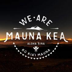 I wish I never had to post this design again, but here we are 😕 The BLNR approved the illegal, invalid, and incomplete CDUP for the Thirty Meter Telescope.  Kapu Aloha 💚❤️💛🗻✊🏼 ••• #TMTshutdown#kūkiaʻimauna #ProtectMaunaKea #WeAreMaunaKea #AlohaAina#KuKiaiMauna #AoleTMT #DontMistakeAlohaForWeakness #SeeYouOnTheMauna