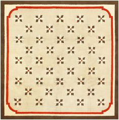 Antique Deco American Hooked Rug 2714 Main Image - By Nazmiyal