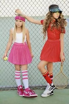 Love this tennis themed shoot by Were So Fancy! #taylorjoelle #tweenfashion