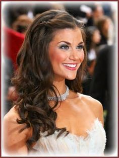 Image detail for -... half up hairstyle for long hair wedding styles this soft and romantic