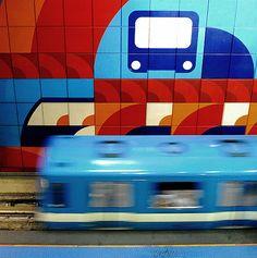 The 10 Coolest Underground Subways In The World: 9. Montreal Metro