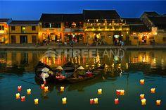 Glittering Flower lantern in #Hoian, Vietnam
