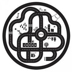 Sac Tapis de Jeu Play and Go Circuit Plan #kid #kids