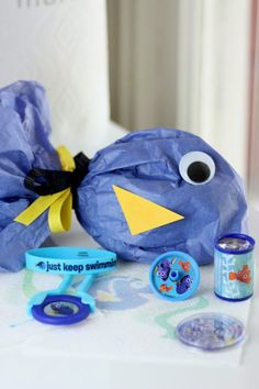 Finding Dory DIY birthday party favor bag from Catch My Party