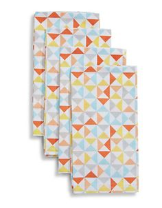 Distinctly Home Deco Napkins graphic print, Set of 4 | Hudson's Bay
