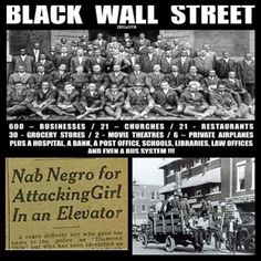 Remembering The Black Wall Street: 95 Years After The U.S. Dropped The  Bombs On Us