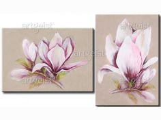 Cuadro decorativo Sueño de magnolia  35279