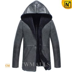 CWMALLS® Mens Shearling Sheepskin Jacket with Hood CW838015 Fashion shearling jacket with hood crafted from imported natural, smooth sheepskin shearling material, designer winter leather jacket featuring with warm and comfort shearling interior, blazer style, warm hood,it defends you against wind and cold. www.cwmalls.com PayPal Available (Price: $1887.89) Email:sales@cwmalls.com