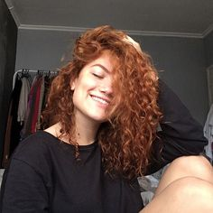 When you care for your hair your whole life changes. Good hair tells other people that you are put together. Haircuts For Long Hair, Curled Hairstyles, Cool Hairstyles, New Hair, Wavy Hair, Sexy Black Art, Ginger Hair, Curly Girl, Hair Goals