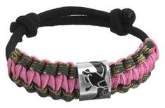 Duck Commander® Survival Bracelet - Pink/Camo | Bass Pro Shops