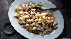 Turnips with Bacon and Pickled Mustard Seeds