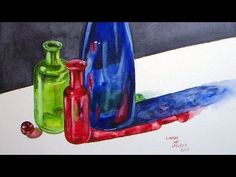 Art tips and tutorials still life on pinterest for Paint bottles with tips