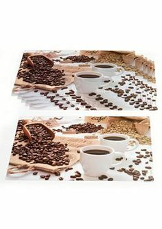 PLACEMATS: Afbeelding koffie