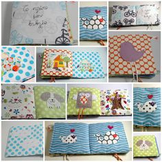 Baby's first fabric book/ baby's quiet/soft book by nenimav