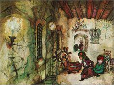 "Toma Bogdanovic illustration for ""The Snow Queen"". Bird Illustration, Snow Queen, Fairy Tales, Birds, Fantasy, Painting, Illustrator, Art, Art Background"