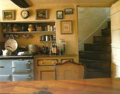 Light Blue AGA   via kitchensihaveloved