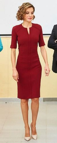 1 Oct 2015 - Queen Letizia opens the Vocational Training courses for the 2015/2016 academic year.
