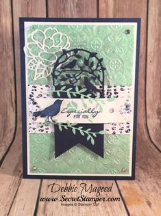 Picks from My Pals Stamping Community! (Mary Fish, Stampin' Pretty The Art of Simple & Pretty Cards) Tarjetas Stampin Up, Stampin Up Cards, Birthday Wishes, Birthday Cards, 50 Birthday, Mary Fish, Stampin Pretty, Making Greeting Cards, Making Cards