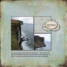 2015, Skye, Mealt Falls and Kilt Rock - Scrapbook.com