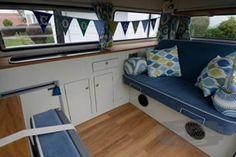 Ned the Bay window Birthday Surprise - VW Camper Interiors - Camper Conversions - Kustom Interiors Cornwall