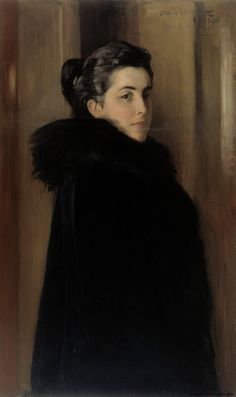 "Albert Edelfet: ""Portrait of Ellan Edelfelt"" - January in 1888 Edelfelt married a rich heiress and beauty, Baroness Anna Elise (Ellan) de la Chapelle Their son Erik was born in the end of The pair gradually drifted apart. Helene Schjerfbeck, Female Portrait, Portrait Art, Female Art, Albert Bierstadt, Potrait Painting, Woman Painting, Jules Cheret, Cosmopolitan"