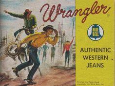 history of wrangler jeans Wrangler Jeans, Wrangler Cowboy Cut, Jeans West, Vintage Jeans, Vintage Outfits, Vintage Stuff, Vintage Clothing, Western Jeans, Vintage Branding