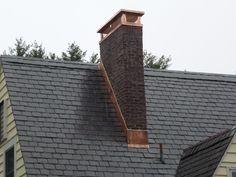 Copper Chimney Cap-Orange County Rockland County, NY. Custom Chimney Caps