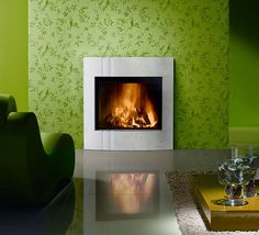 Piazzetta's MA 262 SL with Cagliari Surround. Visit www.calore.co.za to see more of our stunning fireplaces.