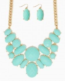 Annabella Bib Necklace Set