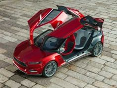 Another view of the Ford EVOS
